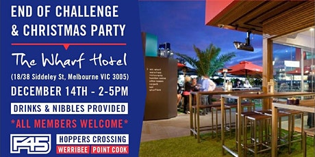 Christmas Party - F45 Training Hoppers Crossing, Point Cook & Werribee  tickets