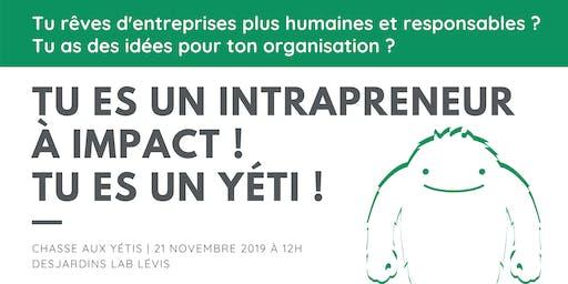 L'intrapreneuriat à Québec   Discussion & Atelier
