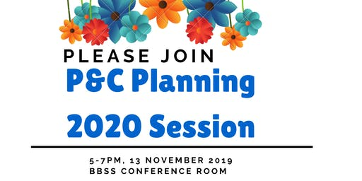 P&C Planning 2020 Session