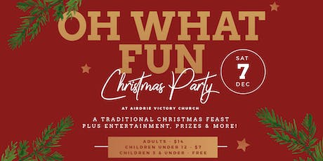 AVC Christmas Party 2019 tickets