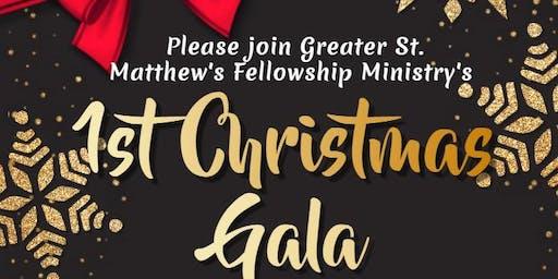 1st Christmas Gala Fundraiser