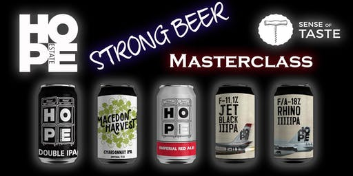 Strong Beer Masterclass with Hope Brewing