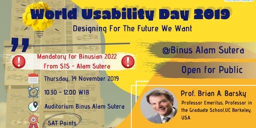 World Usability Day 2019 (Alam Sutera)