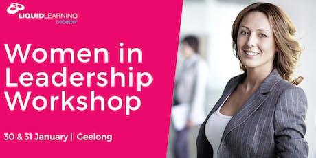 Women in Leadership Workshop Geelong tickets