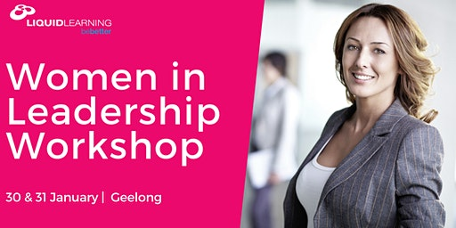 Women in Leadership Workshop Geelong