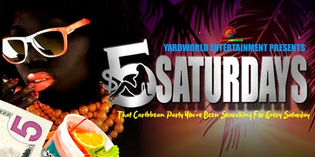 $5 Saturdays @ The Junction Bar & Restaurant   tickets