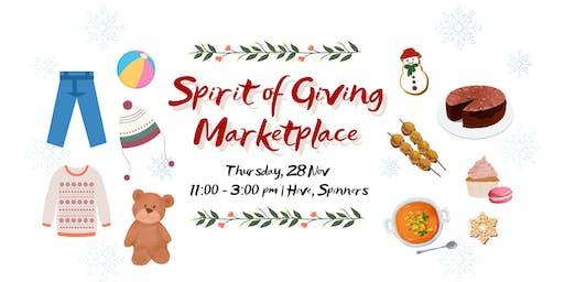 Spirit of Giving Marketplace