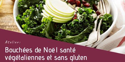 Atelier: Bouchées de Noël santé végétaliennes et sans gluten