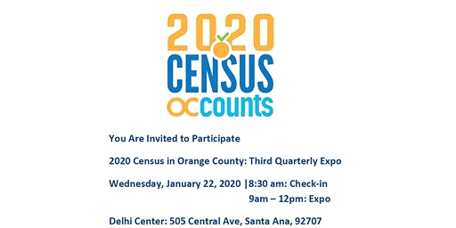 OC Census Community Table: Quarterly Expo