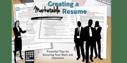 Creating a Marketable Resume Workshop