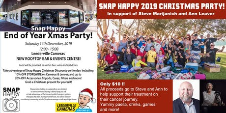 Snap Happy Christmas Party 2019 (Fundraiser) tickets