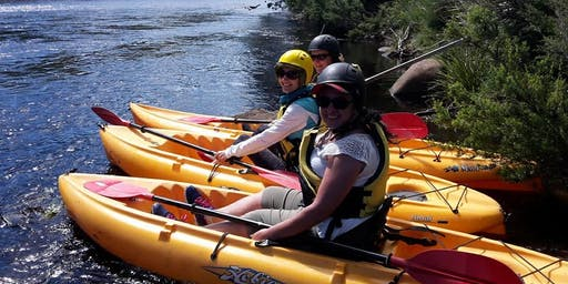 Women's Kayak Adventure - Huon River Trip