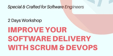 Improve Your Software Delivery with Scrum and DevOps tickets