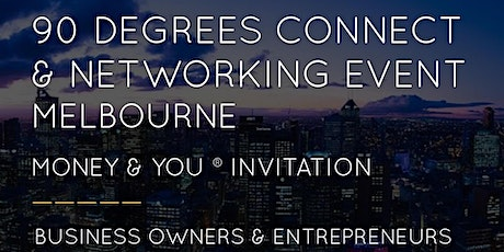 90Degrees Connect Melbourne Networking Event tickets