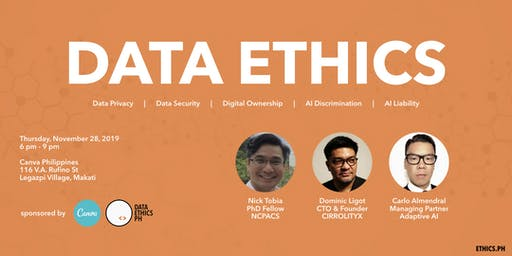 Let's Talk About Technology, Data, and Ethics