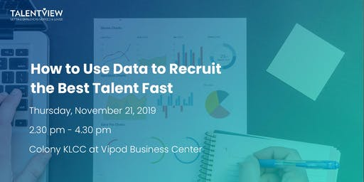 How to Use Data to Recruit the Best Talent Fast