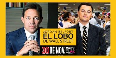 El Verdadero Lobo de Wall Street en CDMX 30  de NOVIEMBRE en WTC