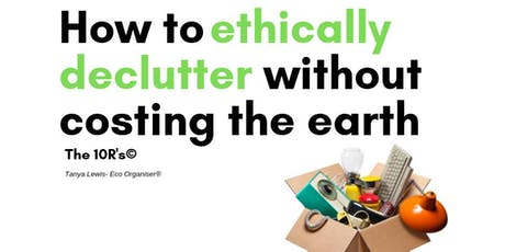 Workshop - decluttering the ethical way - Mornington Library tickets