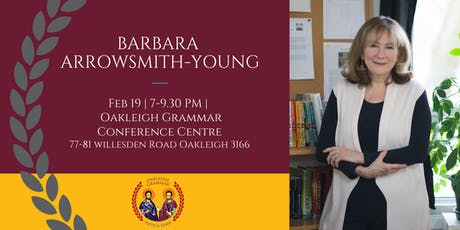 Barbara Arrowsmith-Young Presentation tickets