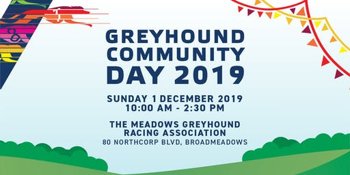 Greyhound Community Day - The Meadows (MGRA)