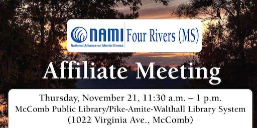NAMI Four Rivers (MS) Affiliate Meeting