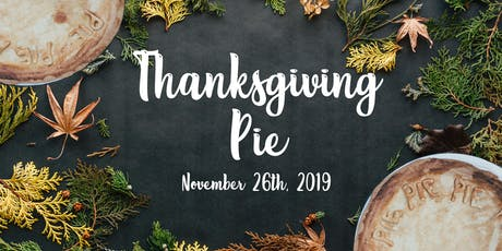 Thanksgiving Pie Giveaway! tickets