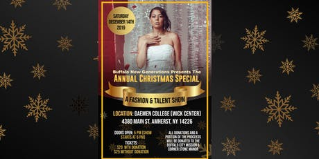 """BNG Presents: """"The AnnualChristmas Special - A Fashion & Talent Show tickets"""