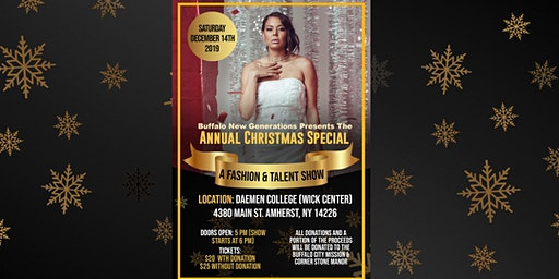 "BNG Presents: ""The Annual Christmas Special - A Fashion & Talent Show"