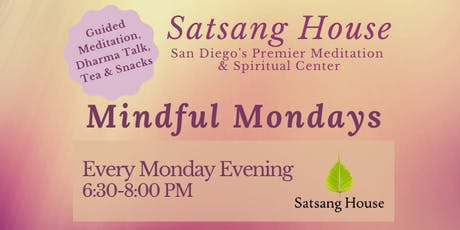 Mindful Mondays at Satsang House - Evening Session tickets