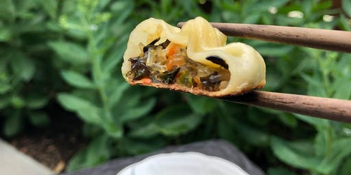 Public Class - Chinese Vegan Dumplings, Chives and Mushrooms