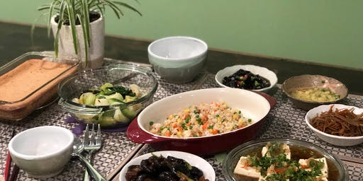 Home-style 8-course Chinese Vegan Class