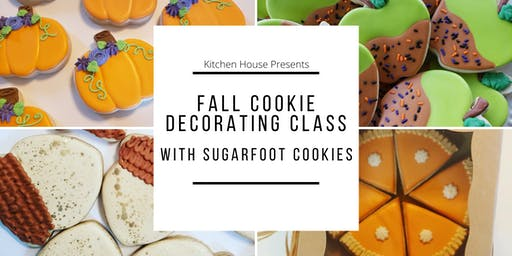 Fall Cookie Decorating Class with Sugarfoot Cookies