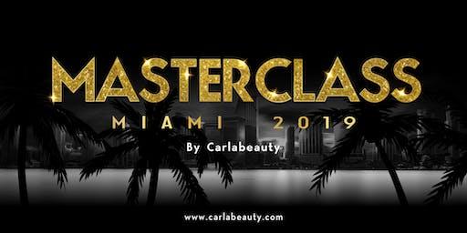 CARLABEAUTY MASTERCLASS MIAMI 2019