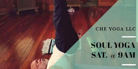 Saturdays - Soul Yoga (Beginner's/All Level) tickets