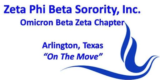 """Zeta Phi Beta Sorority, Incorporated - Omicron Beta Zeta """"Holiday Social"""""""