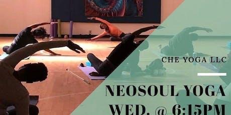 Wednesdays - NeoSoul Yoga (Beginner's/All Levels) tickets