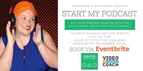 Start My Podcast: Workshop & Recording Session tickets