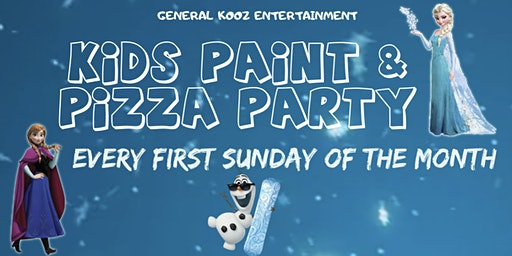 Pizza and Paint Kids Paint Party