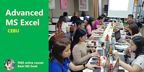 CEBU Basic to Advanced Excel Training tickets