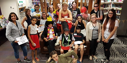 Murder Mystery at the Library