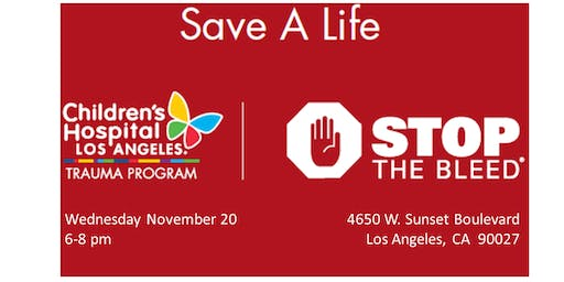 Free Stop The Bleed Training