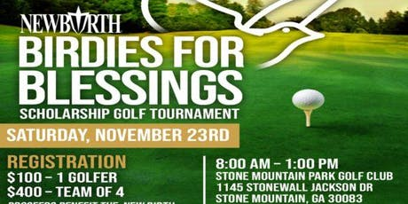 Birdies for Blessings Scholarship Golf Tournament tickets