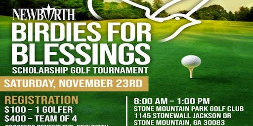 Birdies for Blessings Scholarship Golf Tournament
