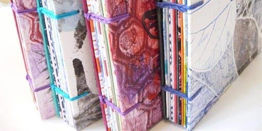 Coptic Bound Blank Journal Workshop
