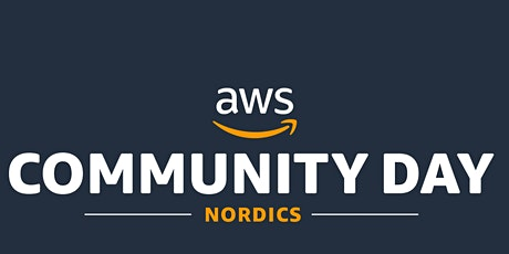 AWS Community day 31st of Jan 2020 @ Stockholm tickets