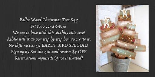 Wooden Christmas Tree Workshop