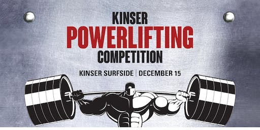 MCCS Okinawa 2019 Kinser Powerlifting Competition (LOCATION CHANGE! CAMP FOSTER COMMUNITY CENTER)