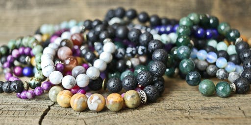 Gemstone Essential Oil Bracelets Workshop
