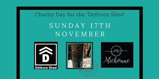 Charity Event for the 'Defence Shed'