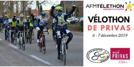 Vélothon de Privas tickets